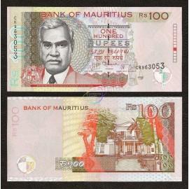 Mauritius 100 Rupees, 2012, P-56, UNC