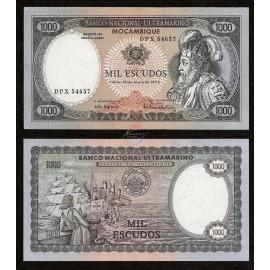 Mozambique 1,000 Escudos, 1972, P-112b, UNC