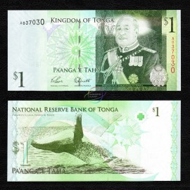 Tonga 1 Pa'anga, 2008, P-37, UNC