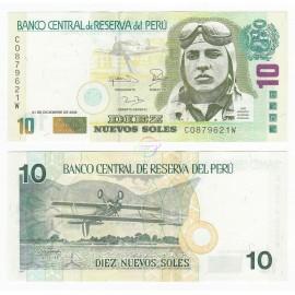 Peru 10 Nuevos Soles, 2006, P-179b, UNC