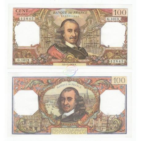 France 100 Francs, Sign Strohl Bouchet Tronche, 1976, P-149f, UNC