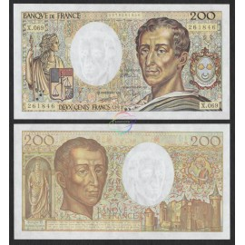 France 200 Francs, 1989, P-155c, UNC
