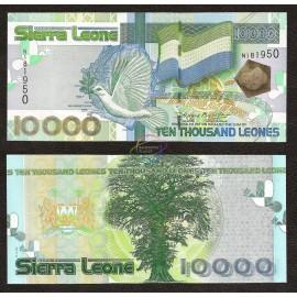 Sierra Leone 10,000 Leones, 2004, P-29, UNC