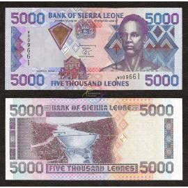 Sierra Leone 5,000 Leones, 2003, P-28, UNC
