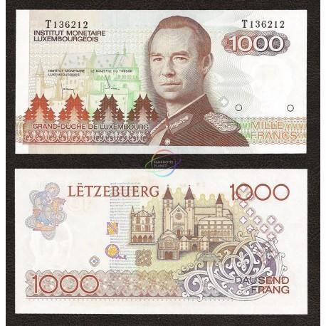 Luxembourg 1,000 Francs, 1985, P-59, UNC