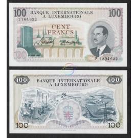 Luxembourg 100 Francs, 1968, P-14, UNC