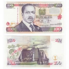 Kenya 100 Shillings, 2002, P-37h, UNC