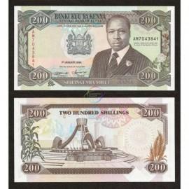 Kenya 200 Shillings, 1994, P-29f, UNC