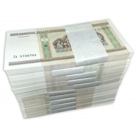 Belarus 500 Rubles X 1000 PCS, Full Brick, 2000 (2011), P-27b, UNC