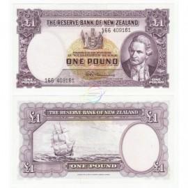 New Zealand 5 Dollars, QE II, 1989-92, P-171c, UNC