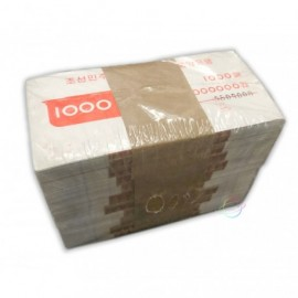 Korea 1000 Won X 1000 PCS, Full Brick, 2006, P-45, UNC