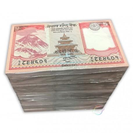 Nepal 5 Rupees X 1000 PCS, Full Brick, 2012, P-69, UNC