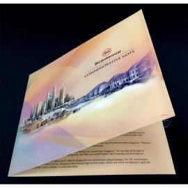 Singapore 20 Dollars w/FOLDER, Commemorative, 2019, P-New, Polymer, UNC
