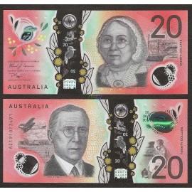 Australia 20 Dollars, 2019, P-New, Polymer, UNC