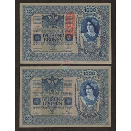 Austria 1000 Kronen, 1919, P-59, AUNC