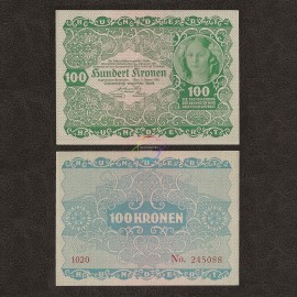 Austria 100 Kronen, 1922, P-77, AU