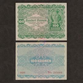 Austria 100 Kronen, 1922, P-77, UNC
