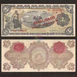 Mexico 1 Peso, 1914, P-S701b, AUNC