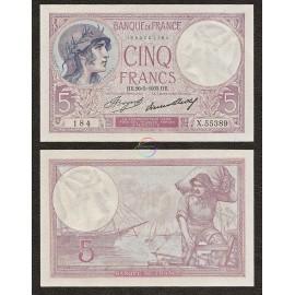 France 5 Francs, 1933, P-72e, UNC