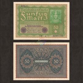 Germany 50 Mark, 1919, P-66, UNC