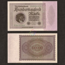 Germany 100,000 Mark, 1923, P-83, AUNC