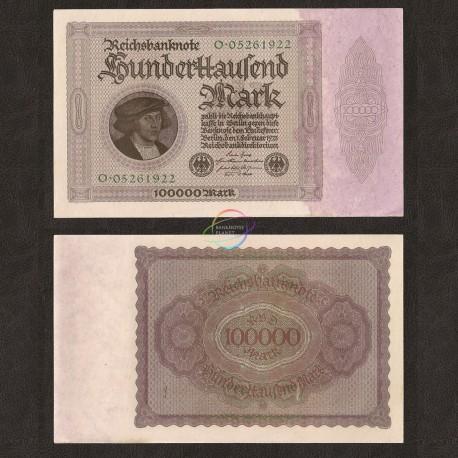 Germany 100,000 Mark, 1923, P-83, AUNC