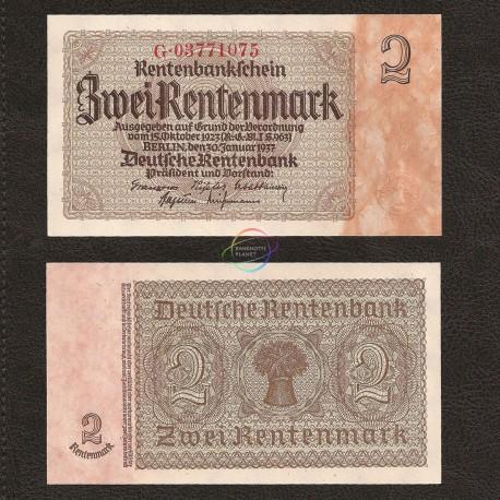 Germany 2 Rentenmark, 1937, P-174b, UNC