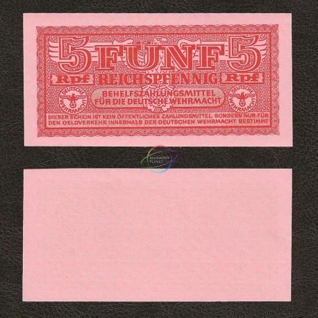 Germany 5 Pfennig, 1942, P-M33, UNC