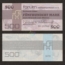 Germany Democratic Rep. 500 Mark, 1979, P-FX7, UNC