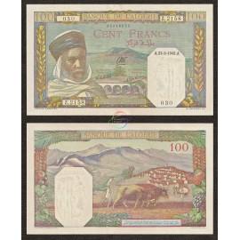 Algeria 100 Francs, P-88, 1945, UNC